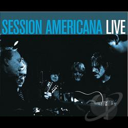 Session Americana - Live CD Cover Art