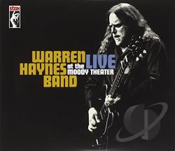 Haynes, Warren / Warren Haynes Band - Live at the Moody Theater CD Cover Art