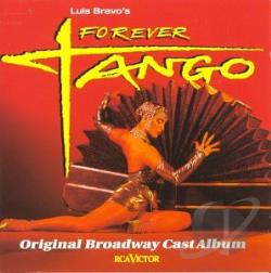 Forever Tango Musical CD Cover Art