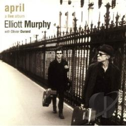 Murphy, Elliott - April CD Cover Art