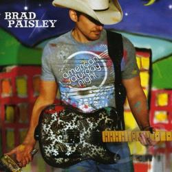Paisley, Brad - American Saturday Night CD Cover Art