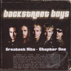 Backstreet Boys - Greatest Hits-Chapter 1 CD Cover Art