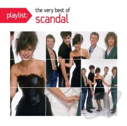 Scandal - Playlist: The Very Best of Scandal CD Cover Art