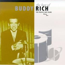 Rich, Buddy - Best of Buddy Rich: The Pacific Jazz Years CD Cover Art