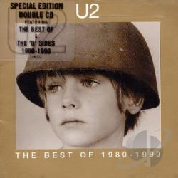 U2 - Best Of 1980-1990 CD Cover Art