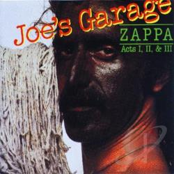 Zappa, Frank - Joe's Garage: Acts I, II & III CD Cover Art