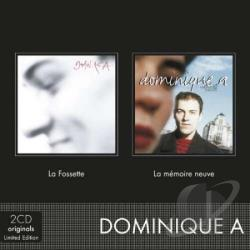 Dominique A - La Fossette / La Memoire CD Cover Art