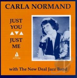 Normand, Carla - Just You, Just Me CD Cover Art