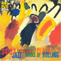 34 / 37 Jazz Ensemble - Works of Claude Bolling CD Cover Art