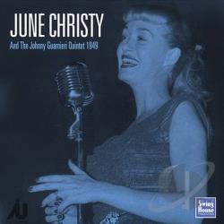 Christy, June - June Christy and the Johnny Guarnieri Quintet 1949 CD Cover Art