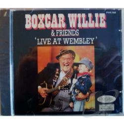 Boxcar Willie - Live At Wembley CD Cover Art