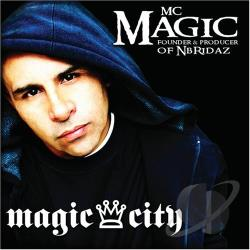 MC Magic - Magic City CD Cover Art