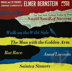 Bernstein, Elmer - Movie & TV Themes LP Cover Art