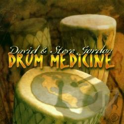 Gordon, David & Steve - Drum Medicine CD Cover Art