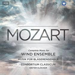 Consortium Classicum / Mozart - Mozart: Complete Music for Wind Ensemble CD Cover Art