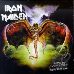 Iron Maiden - Live At Donnington CD Cover Art