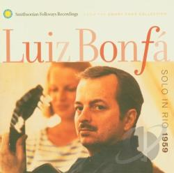 Bonfa, Luiz - Solo in Rio 1959 CD Cover Art