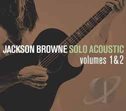 Browne, Jackson - Solo Acoustic, Vol. 1 & 2 CD Cover Art