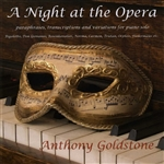 Chopin / Goldstone / Liszt / Wagner - Night at the Opera CD Cover Art
