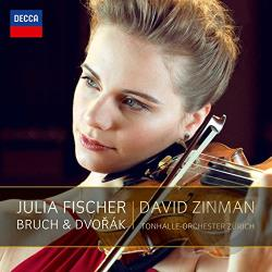 Fischer, Julia - Bruch & Dvorak CD Cover Art