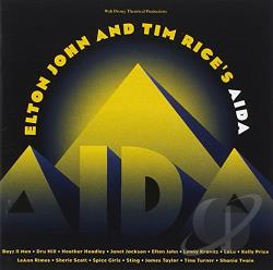 John, Elton / Rice, Tim - Elton John and Tim Rice's Aida CD Cover Art