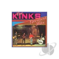 Kinks - Greatest Hits CD Cover Art