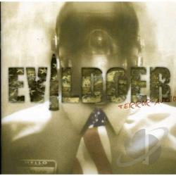 Evildoer - Terror Audio CD Cover Art