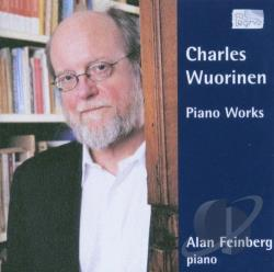 Feinberg, Alan: pno - Charles Wuorinen: Piano Works CD Cover Art