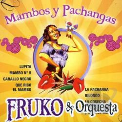 Fruko Y Orquesta - Mambos y Pachangas CD Cover Art