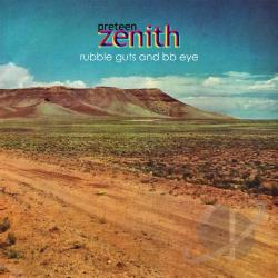 Preteen Zenith - Rubble Guts && BB Eye LP Cover Art