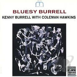Burrell, Kenny - Bluesy Burrell CD Cover Art