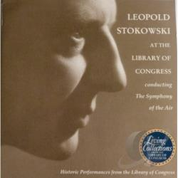 Symphony Of The Air; Leopold Stokowski - Stokowski, Leopold - Library Of Congress CD Cover Art