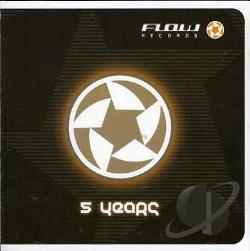 5 / A (Flow Records) by DJ Pena - 5 Years (Fullon / Psy-trance / Goa) CD Cover Art