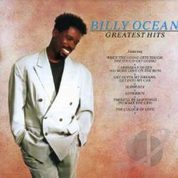 Ocean, Billy - Greatest Hits CD Cover Art