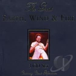 Earth, Wind, and Fire - Great Earth, Wind & Fire CD Cover Art