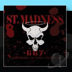 St. Madness - Vampires In The Church CD Cover Art