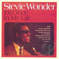 Wonder, Stevie - For Once in My Life CD Cover Art