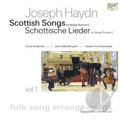 Anderson / Haydn / Haydn Trio / Macdougall - Scottish Songs For George Thomson 1 CD Cover Art