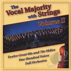 The Vocal Majority - Vocal Majority With Strings - Volume II CD Cover Art