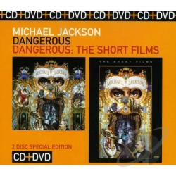 Jackson, Michael - Dangerous/Dangerous CD Cover Art