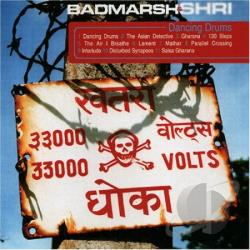 Badmarsh & Shri - Dancing Drums CD Cover Art