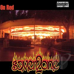SEVEN 2 ONE - On Red CD Cover Art