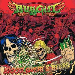 Buggirl - Blood, Sweat & Beers CD Cover Art