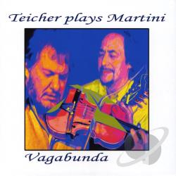 Teicher Plays Martini - Vagabunda CD Cover Art