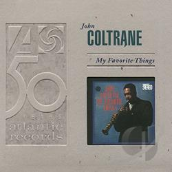 Coltrane, John - My Favorite Things CD Cover Art