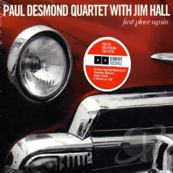 Desmond, Paul / Desmond, Paul Quartet - First Place Again CD Cover Art