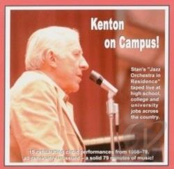 Kenton, Stan - Kenton on Campus CD Cover Art
