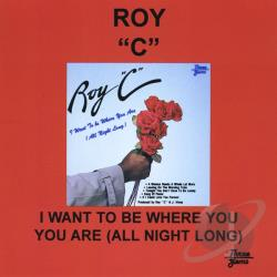 Rowland Salley - I Want To Be Where You Are All Night Long CD Cover Art