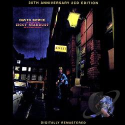 Bowie, David - Rise & Fall Of Ziggy Stardust & The Spiders From Mars: 30th Anniversary Edition CD Cover Art