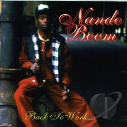 Boom, Nando - Back To Work CD Cover Art